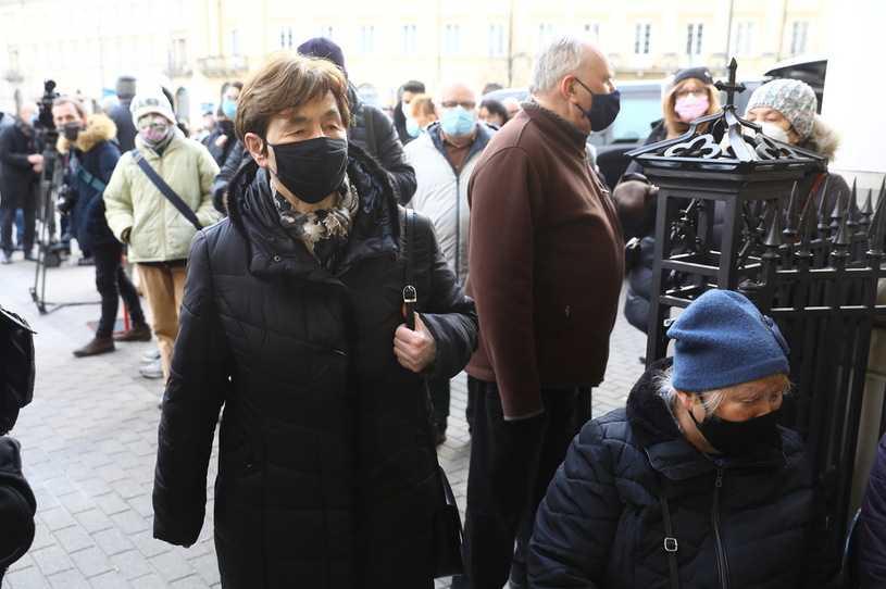 Rzecznik prezydenta: Romaszewska niewpuszczona na mszę pogrzebową Lityńskiego