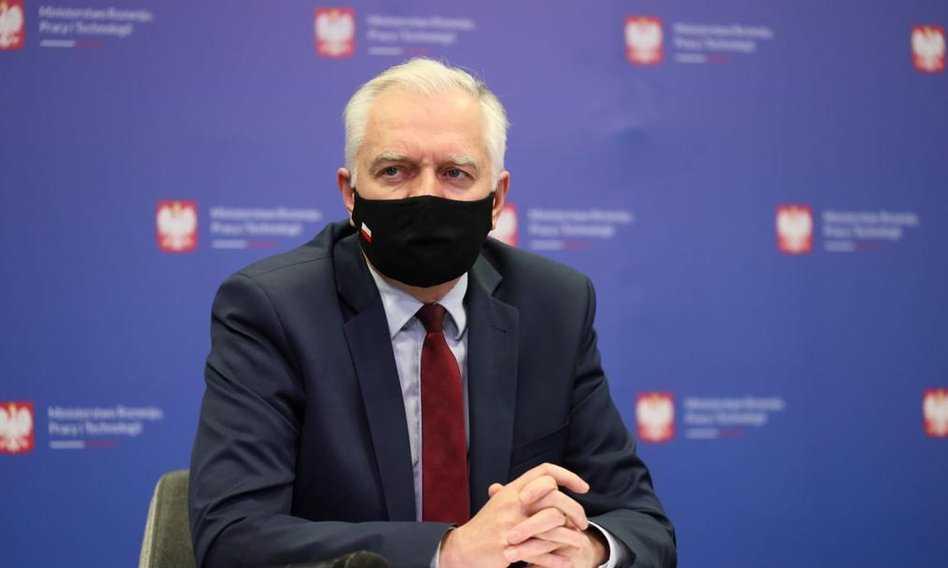 Jarosław Gowin w szpitalu z powodu koronawirusa