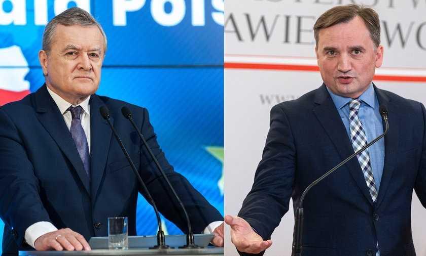 Spór Ziobry z Glińskim. Wicepremier i minister kultury odpowiada na zarzuty