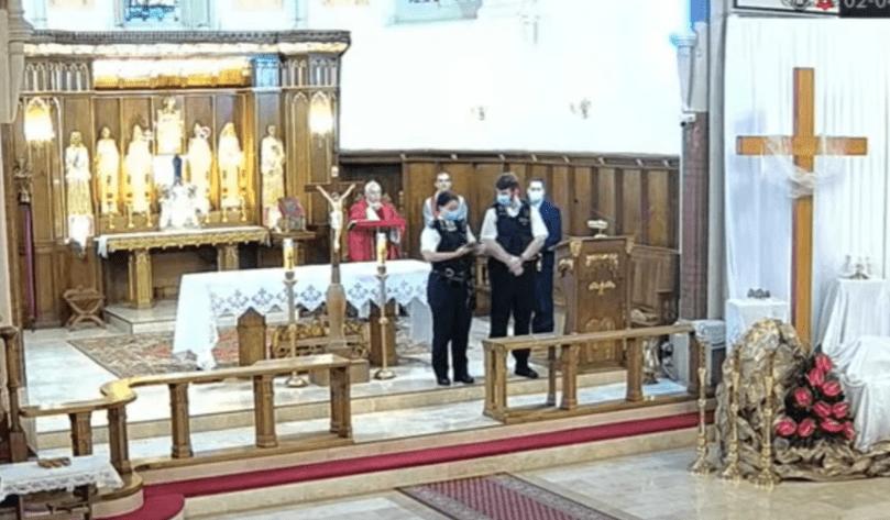 Wraca sprawa przerwania nabożeństwa w polskim kościele. Londyńska policja reaguje