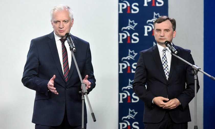 Sondaż: partie Ziobry i Gowina nie mają szans samodzielne wejście do Sejmu