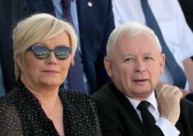 Jarosław Kaczyński i Julia Przyłębska z nagrodami. Tak dziękowali za wyróżnienie