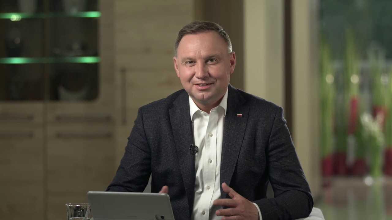 """Andrzej Duda """"Szczepienie przebiegło zgodnie z wszelkimi procedurami i czujemy się dobrze"""""""