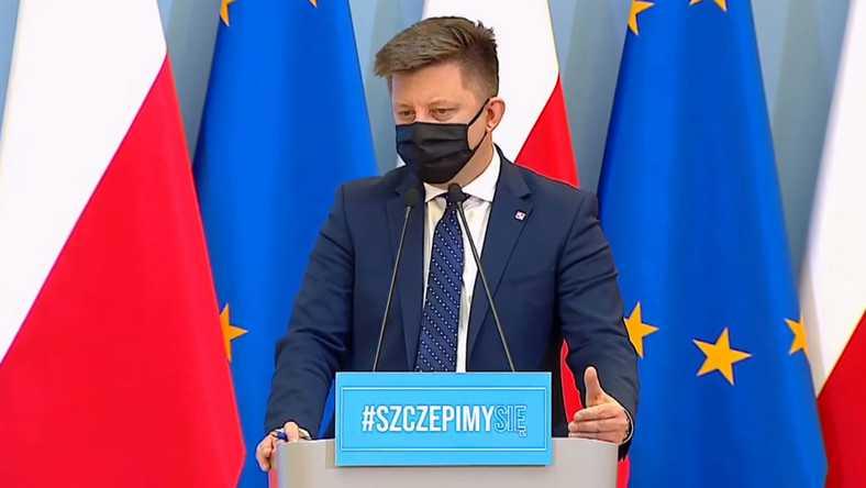 Michał Dworczyk: przyspieszamy, w tym tygodniu planujemy 1,6 mln szczepień