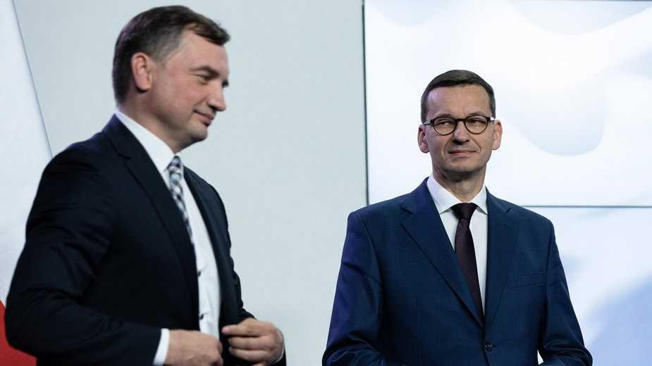Kulisy kolejnej awantury w rządzie. Ziobro blokuje Morawieckiego