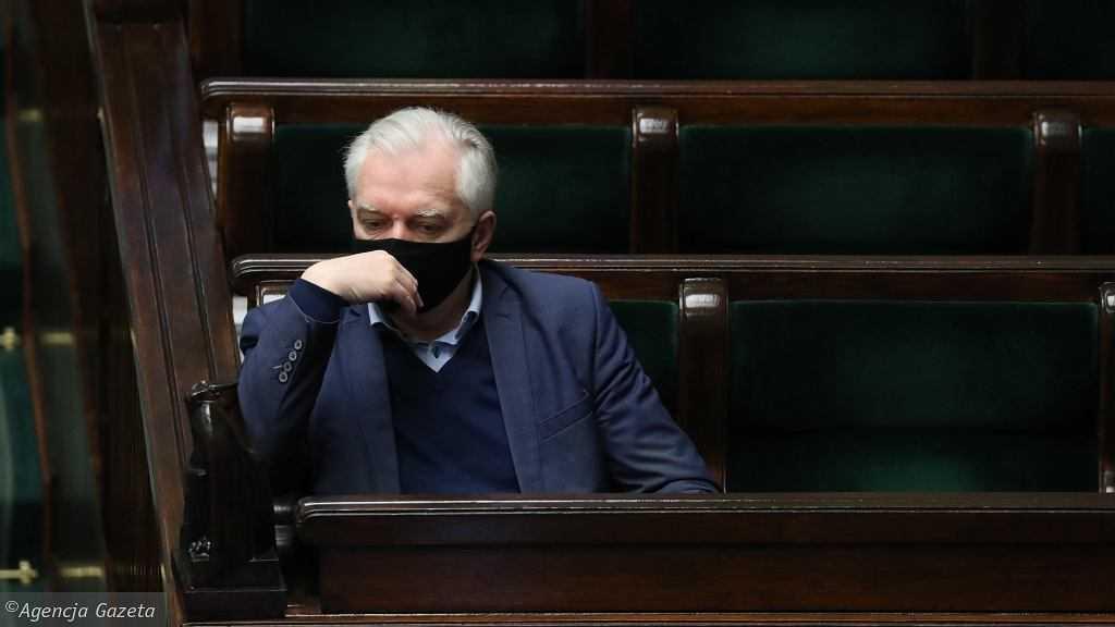 Spór w Zjednoczonej Prawicy. Sondaż: Czy Jarosław Gowin przejdzie do opozycji?