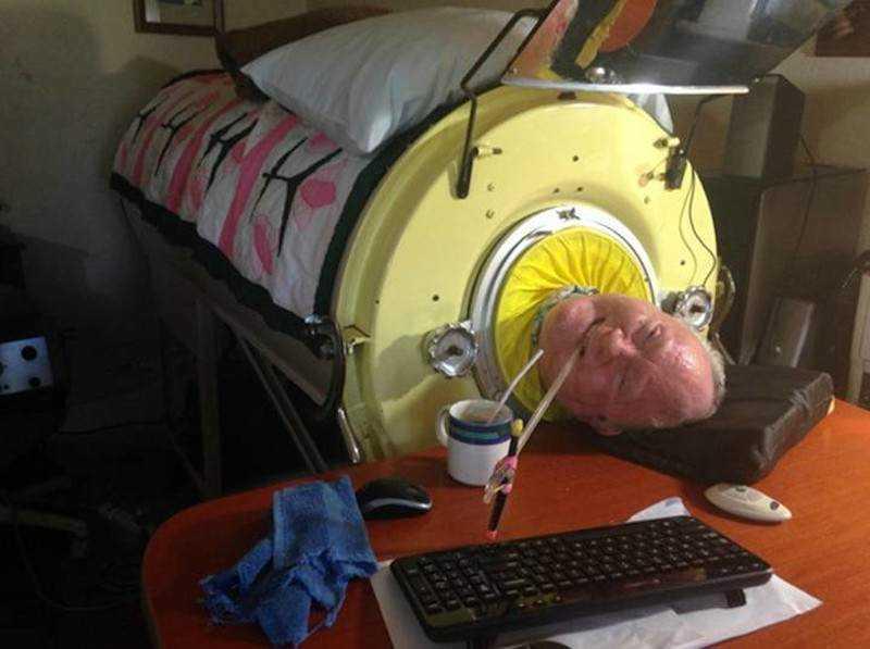 Ten mężczyzna od 1952 roku mieszka w maszynie, o której istnieniu większość ludzi nie ma pojęcia