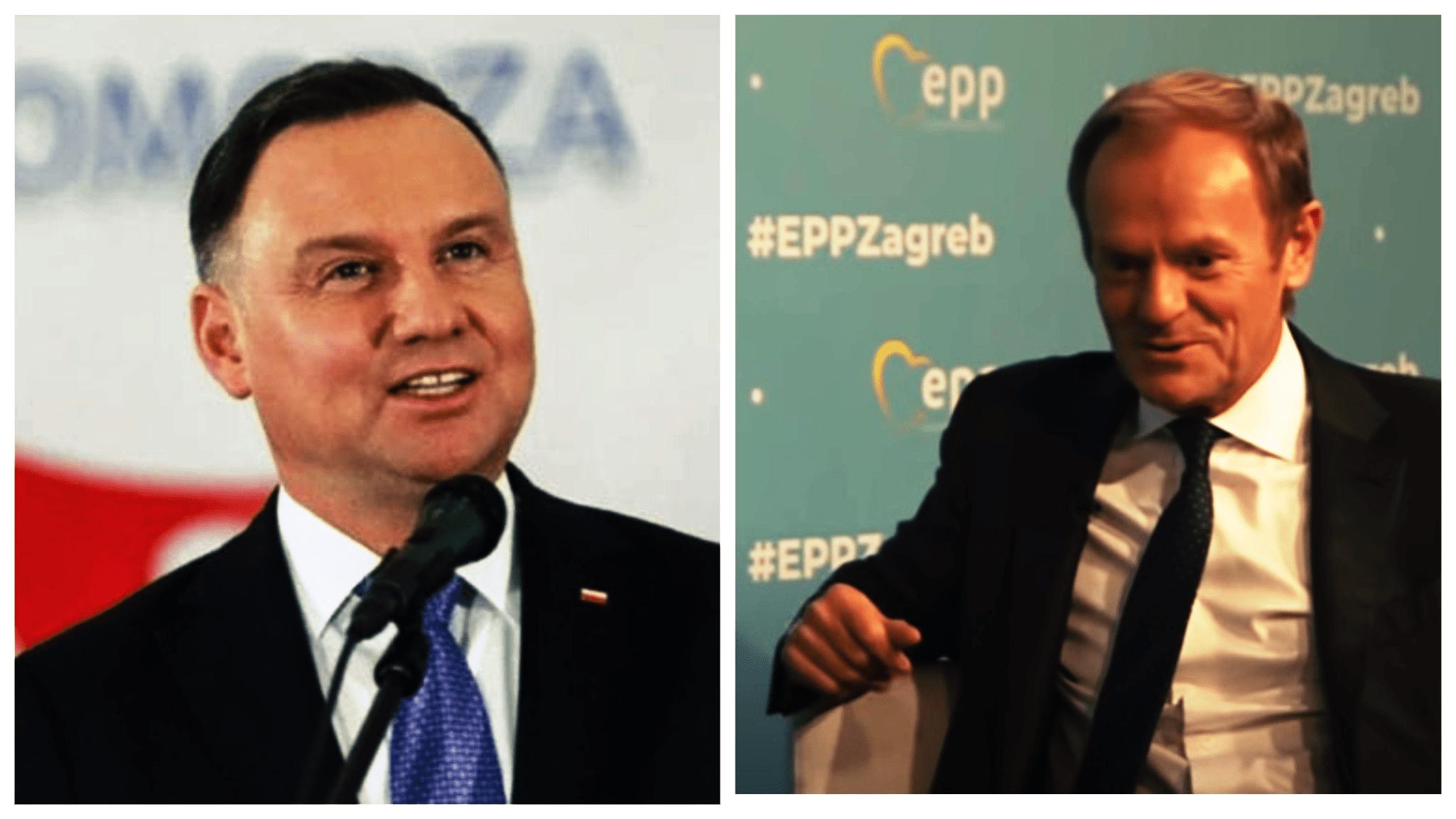 Andrzej Duda kpi z Donalda Tuska. Słusznie?
