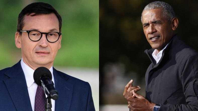 Morawiecki odpowiada na słowa Obamy. Zaprasza go do Polski