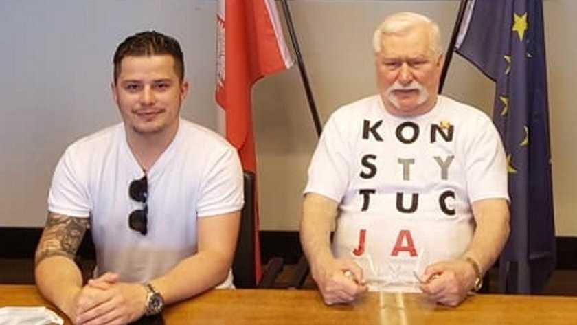 Wspólny projekt Wałęsy i braci Collinsów. Celebryta ujawnia pierwsze szczegóły