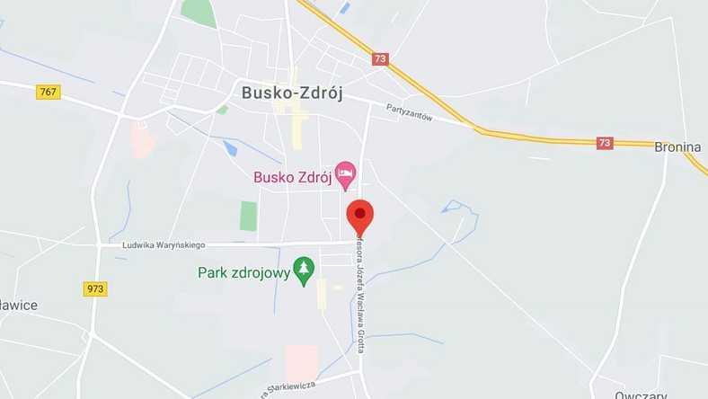 Poważny wypadek w Busku-Zdroju. Siedem osób rannych. Troje dzieci trafiło do szpitala