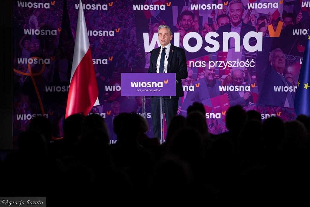 Wiosna Roberta Biedronia po dwóch latach od powstania gotowa do samorozwiązania