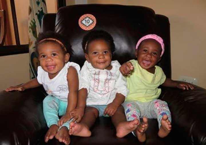 Biała mama rodzi czarnoskóre trojaczki. Mimo, że jej mąż również jest biały