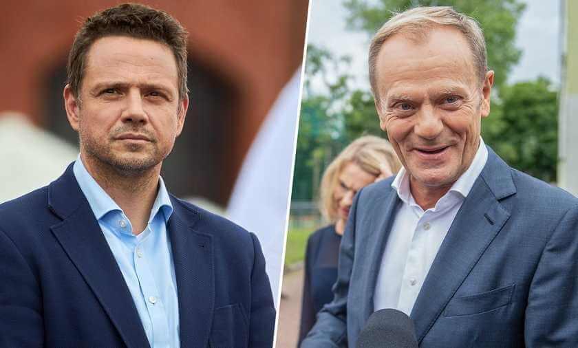 Walka o przywództwo w PO. Trzaskowski kontra Tusk. Szykuje się ostre starcie?