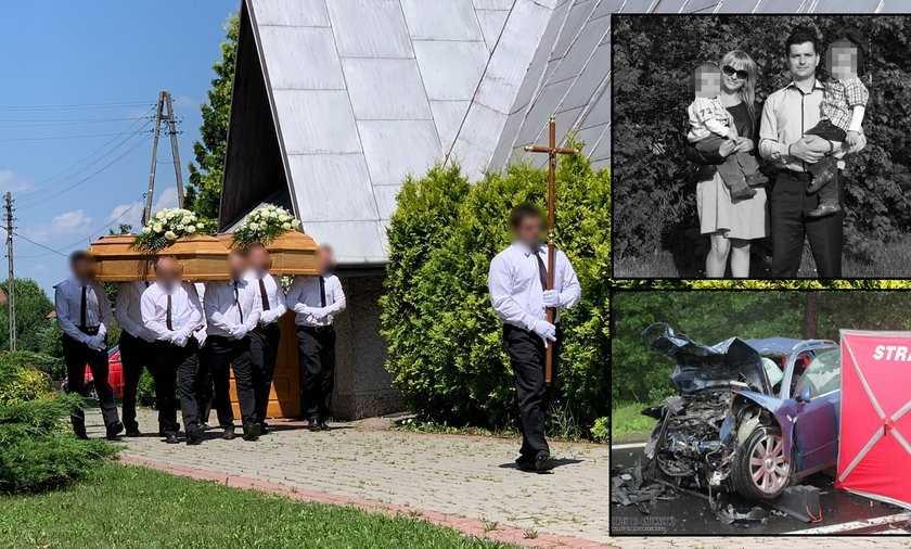 Odeszli z Bogiem w sercu. Na pogrzebie Marzeny i Mariusza ksiądz ujawnił, że małżonkowie zdążyli przyjąć ostatnie namaszczenie