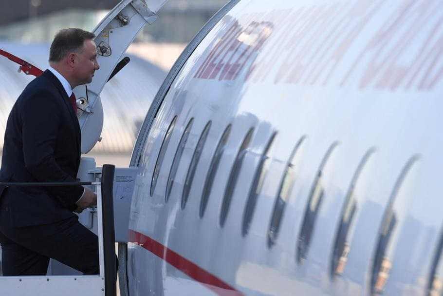 """Incydent lotniczy z prezydentem na pokładzie. """"Taki trochę Smoleńsk"""""""