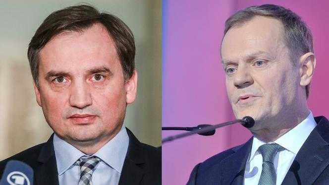 Tego jeszcze nie było! Tusk oficjalnie przeprasza Ziobrę. Te słowa go udobruchają?