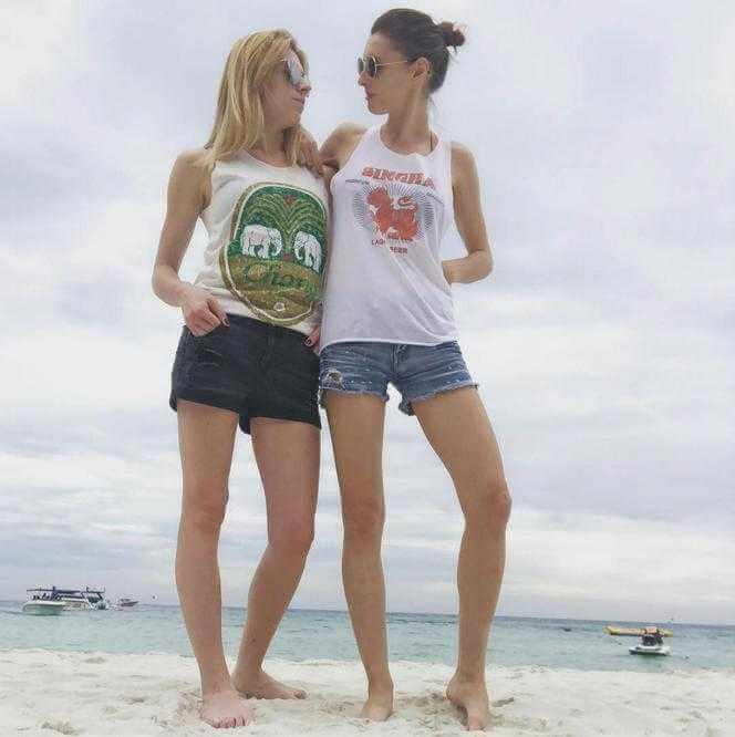 Dziennikarka TVN ujawniła, że jest lesbijką. Czułości z ukochaną nad Wisłą.