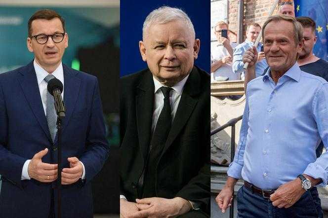 Kaczyński podjął kluczową decyzję w sprawie Morawieckiego! Tusk w opałach