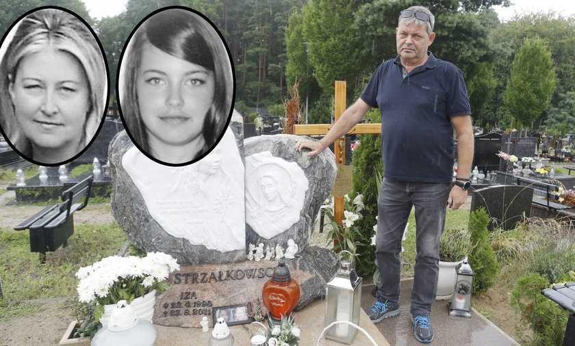 """Ta zbrodnia wstrząsnęła Polską. Pan Sławomir od 10 lat czeka na znalezienie mordercy córki. Teraz spotkała go kolejna tragedia. """"Żona poszła za Izą do nieba"""""""
