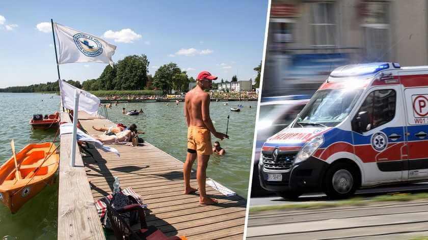 Wypadek podczas nauki pływania na nartach wodnych. 10-letnia Wiktoria nie żyje