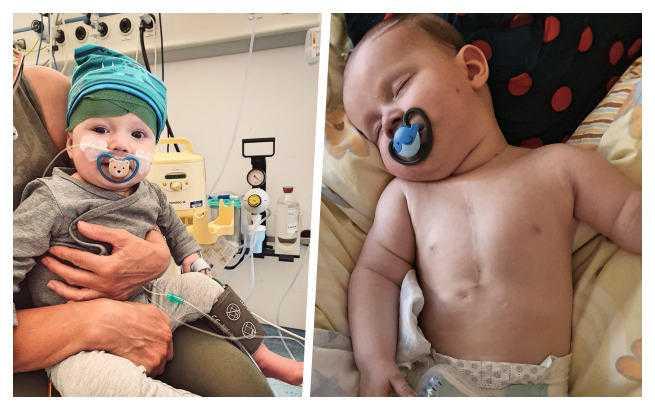 Trwa zbiórka na operację serca u małego Olafa. Ostatnie godziny, by wesprzeć akcję