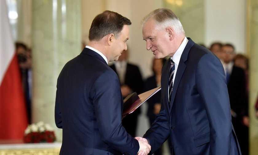 Dymisja Jarosława Gowina. Co zrobi prezydent?