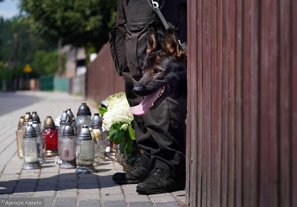 """Potrójne zabójstwo w Borowcach. 13-latek z ochroną policji. """"Jeszcze nie dotarło do niego, co się stało"""""""