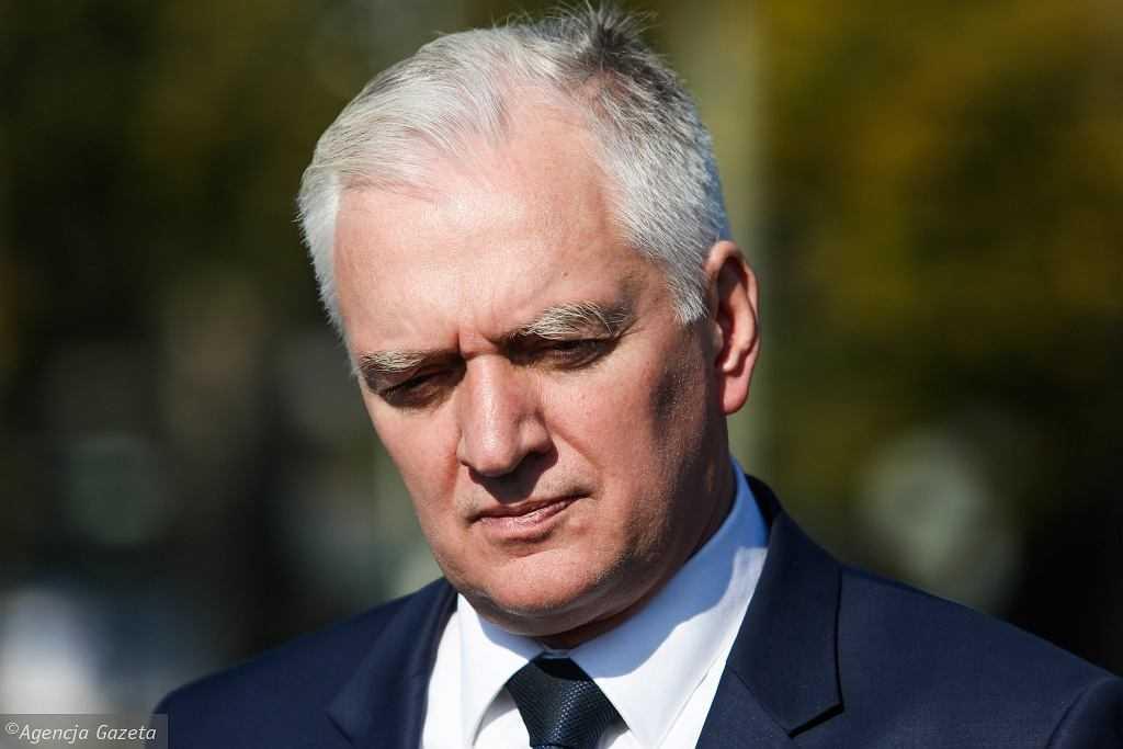 Jarosław Gowin komentuje usunięcie z rządu: Zostaliśmy wypchnięci z koalicji