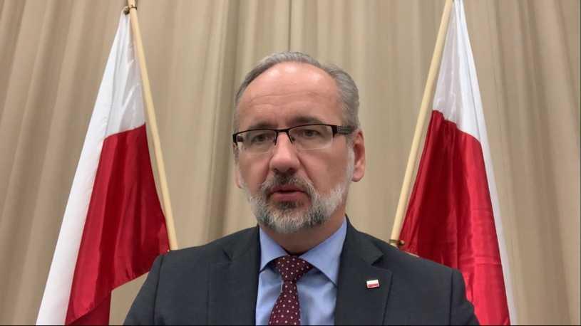 Minister zdrowia Adam Niedzielski: Czuję się zagrożony