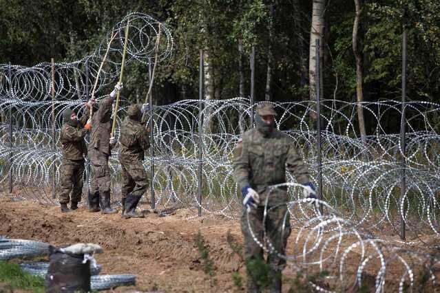 Sondaż. Czy sytuacja na granicy z Białorusią zagraża bezpieczeństwu Polski?