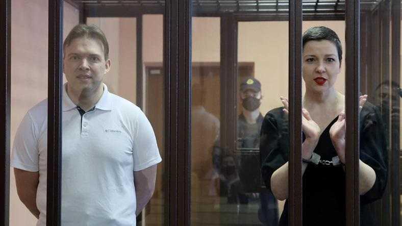 Białoruscy opozycjoniści skazani na 11 i 10 lat więzienia. Fala krytyki pod adresem Mińska