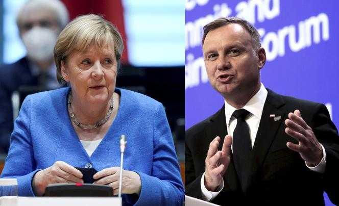 Duda nie chce się spotkać z Merkel! Skandal dyplomatyczny?