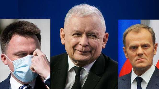 Najnowszy sondaż partyjny. Kaczyński może spać spokojnie