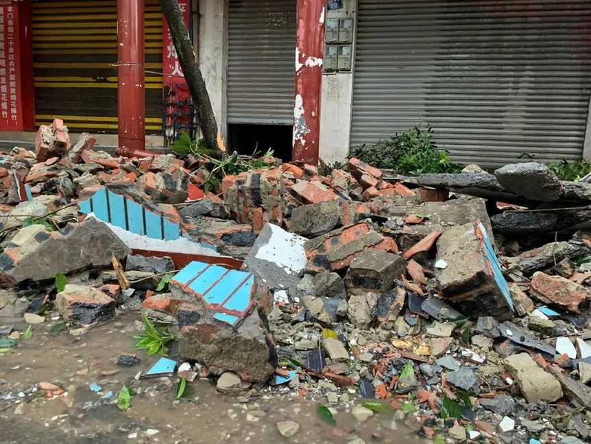 PILNE! Potężne trzęsienie ziemi. Zawaliły się domy.