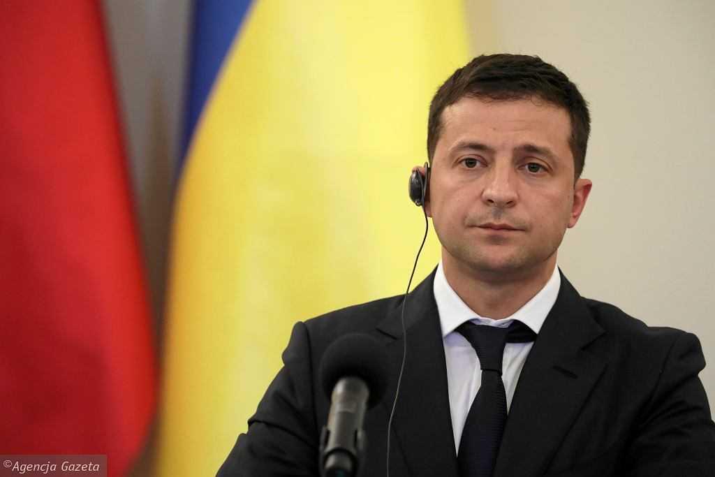 Ukraina. Wołodymyr Zełenski o pełnowymiarowej wojnie z Rosją: Uważam, że może do tego dojść