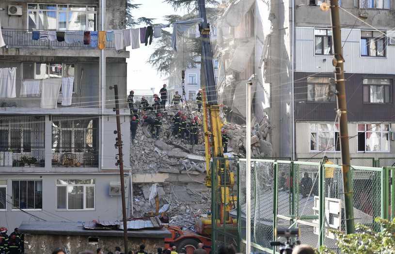 Gruzja. Katastrofa budowlana w Batumi. Zginęło co najmniej pięć osób