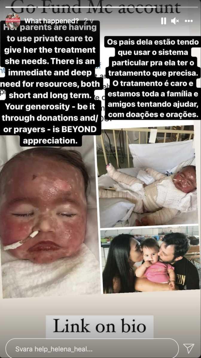 Nikt nie uważa, by wysypka na ciele rocznego dziecka, która pojawiła się po przyjęciu leku, była czymś poważnym – teraz dziewczynka walczy o życie