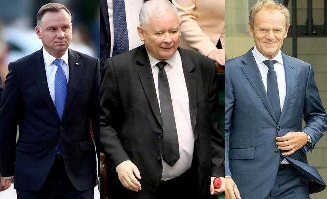 Ile wzrostu mają polscy politycy: Tusk, Kaczyński, Duda? Można się mocno zdziwić!