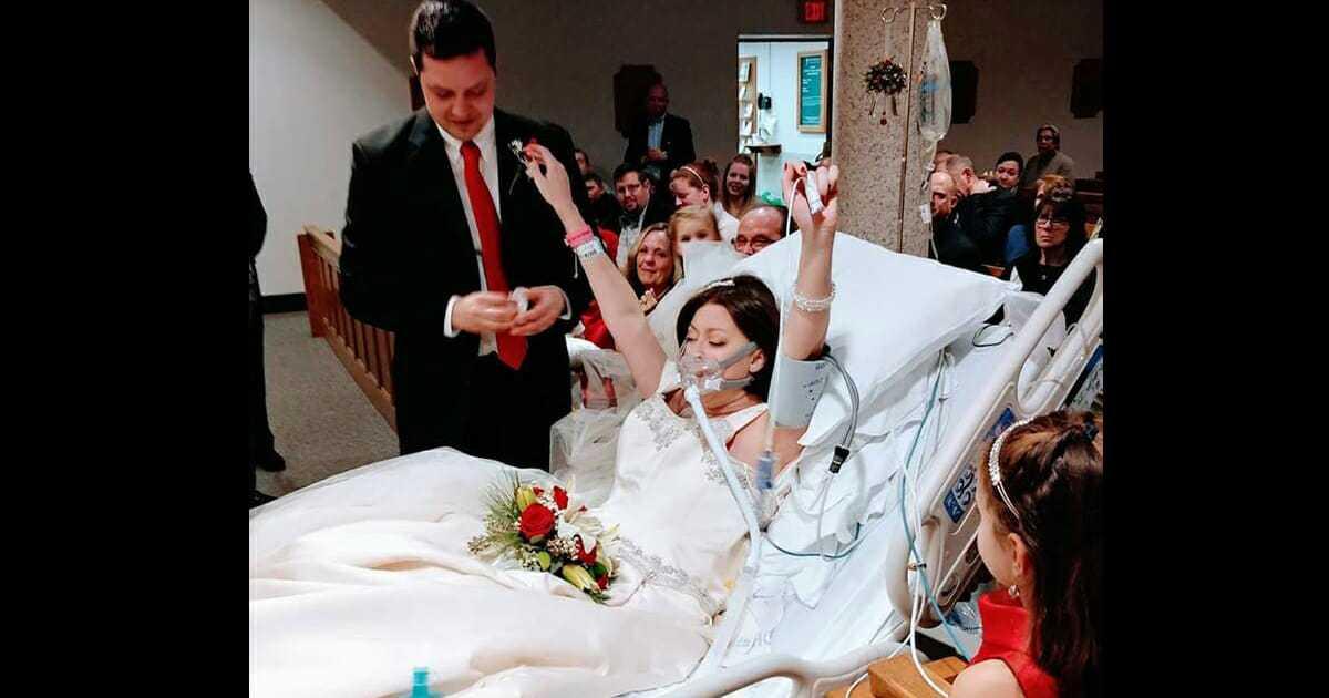 Chora na raka kobieta bierze ślub w szpitalu – 18 godzin później umiera