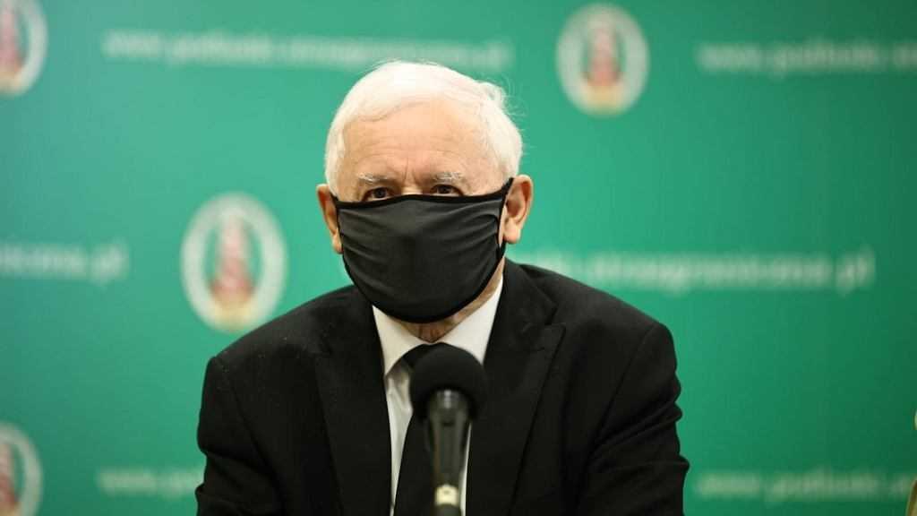 """Jarosław Kaczyński został zapytany o wyrok TK. """"Musiałbym przeczytać sentencję, jestem prawnikiem"""""""