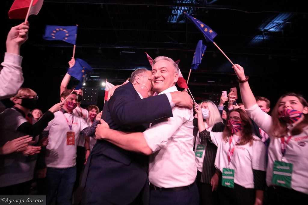 Kongres Zjednoczeniowy Nowej Lewicy. Biedroń i Czarzasty wybrani na współprzewodniczących